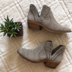 Vince Camuto Laced Bootie